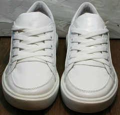 Женские модные кеды кроссовки повседневные Maria Sonet 274k All White.
