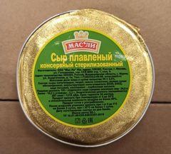 Сыр плавленый стерилизованный 'МасЛи', 80г