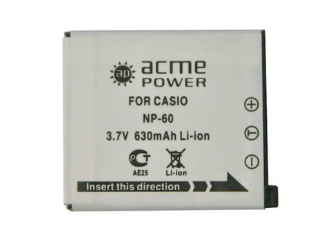 Casio NP-60  acmepower