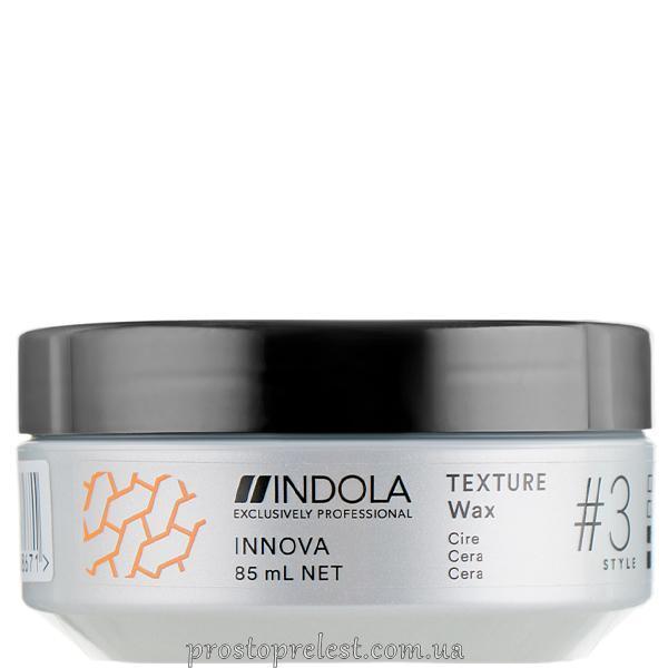 Indola Innova Texture Wax - Текстуруючий віск для волосся легкої фіксації