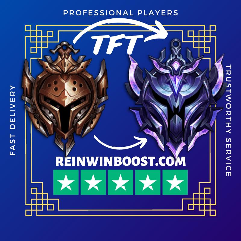 TFT Rank Boost - Teamfight Tactics