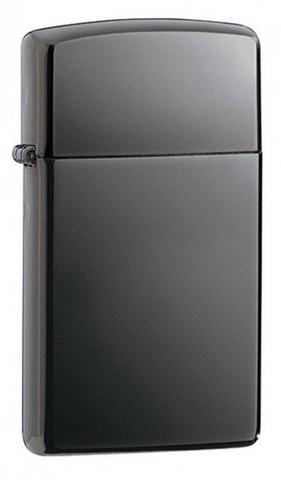 Зажигалка ZIPPO Slim® с покрытием Black Ice™  ZP-20492
