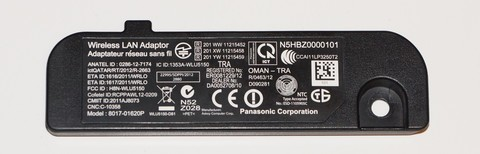 8017-01620P  N5HBZ0000101 WI-FI телевизора Panasonic