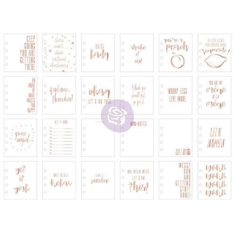 Журнальные карточки My Prima Planner Watercolor Journaling Cards 24шт.