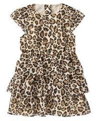 CRAZY8 Платье леопардовое ДП49