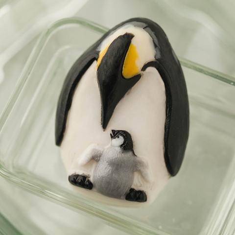 Пластиковая форма для мыла Императорские пингвины
