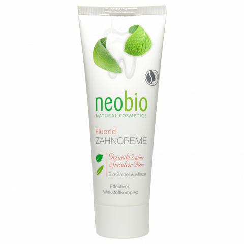NEOBIO зубная паста без фтора 75 мл