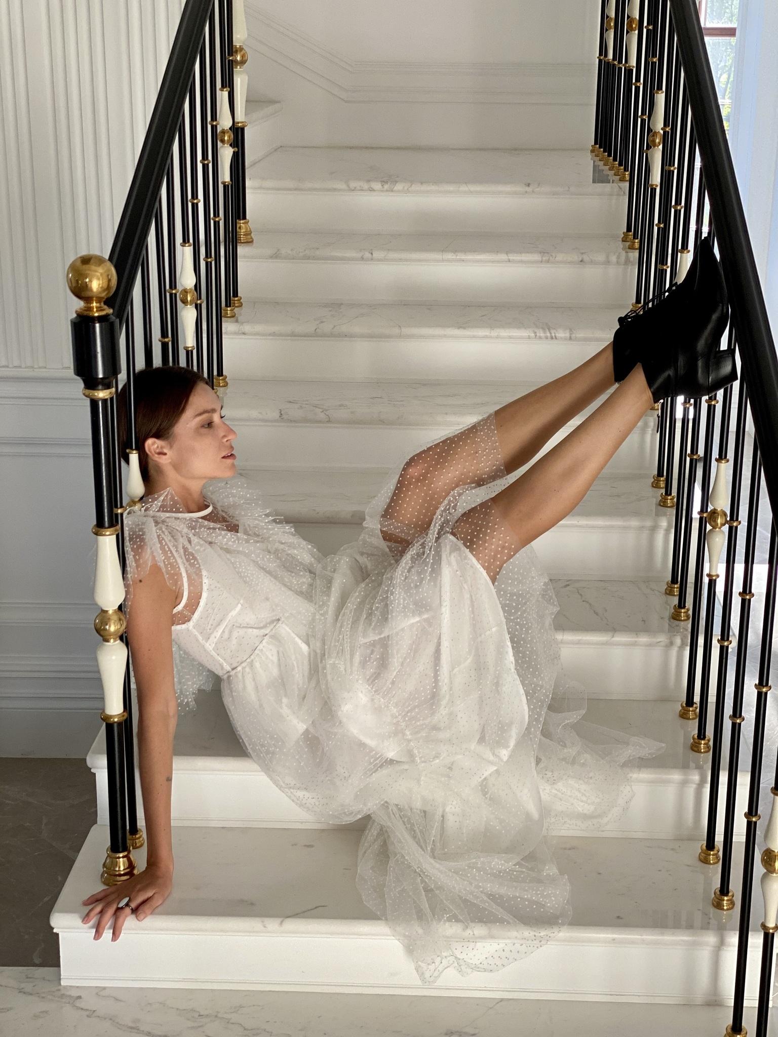 Платье, Paccia, Mademoiselle (белый)