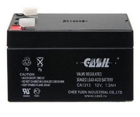 Аккумулятор Casil CA1213 (12V, 1.3Ah)