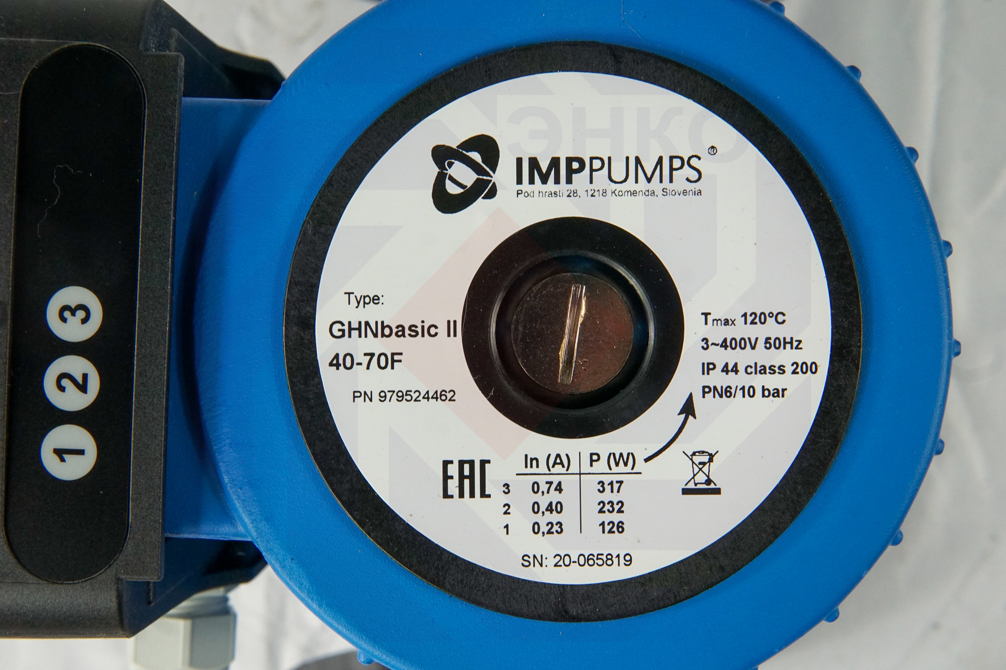 Насос циркуляционный IMP GHN Basic II 40-70 F