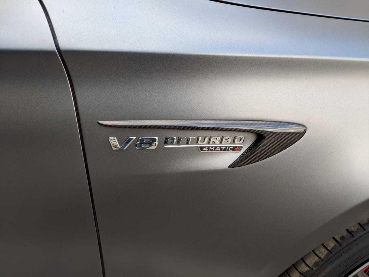 Карбоновые накладки на передние крылья  для Mercedes E63 AMG W213