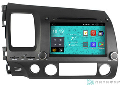 Штатная магнитола 4G/LTE с DVD для Honda Civic 06-11 на Android 7.1.1 Parafar PF044D