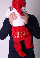 Новогодний комплект Маленький Санта (красный)