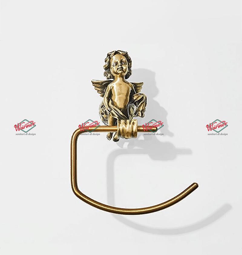 Аксессуары Держатель для полотенец Warmer Bronze Line 220150 потенцедержатель-5.jpg