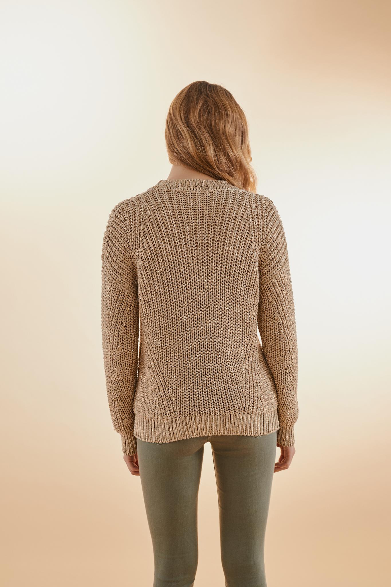 NATHYS - свитер с круглым вырезом