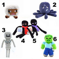Minecraft soft plush toy series 01