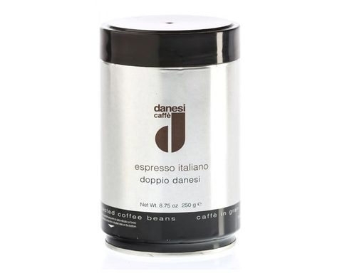 Кофе в зернах Danesi Doppio, 250 г в банке