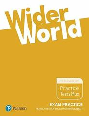Wider World Exam Practice: Pearson Tests of English General Level 1(A2)