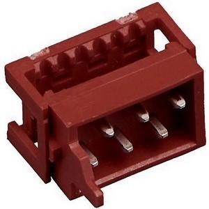 Вилка на шлейф Micromatch red 6 pin (IDC - 1.27 мм)