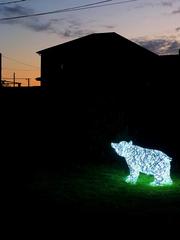 Световой Медведь стилизованный