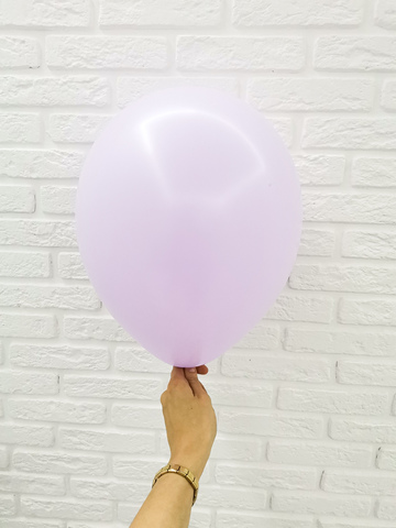 №14 Лавандовый Гелиевый шар пастель 30см с обработкой