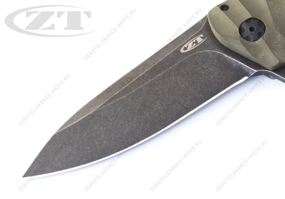Нож Zero Tolerance 0801G10 Blackwash Rexford - фотография