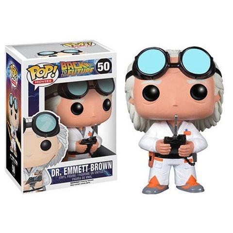 Dr. Emmett Brown Funko Pop!    Док Эммет Браун (Back to the Future)