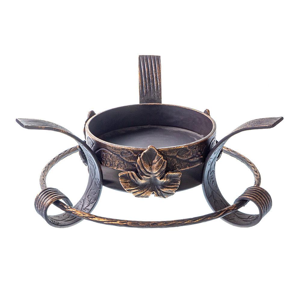 Посуда для подачи шашлыка Кованая подставка садж с виноградным листом 895851633_w640_h640_895851633.jpg