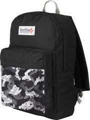 Рюкзак детский Redfox Bookbag M2 10PR/черный/принт