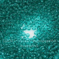 60210 Бисер 8/0 Preciosa прозрачный бирюзовый