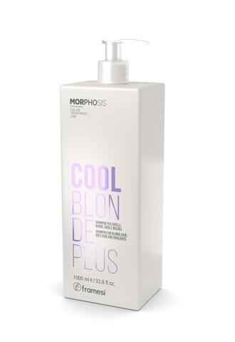 Шампунь для светлых, седых и мелированных волос MORPHOSIS COOL BLONDE PLUS, 1000 мл