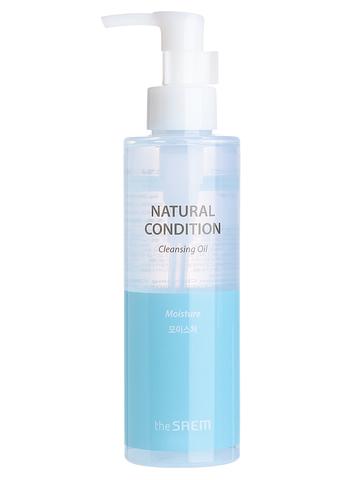 SAEM Natural Condition Гидрофильное масло Natural Condition Cleansing Oil Moisture 180мл
