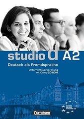 Studio d  A2  Unterrichtsvorb. +Demo -CD-ROM
