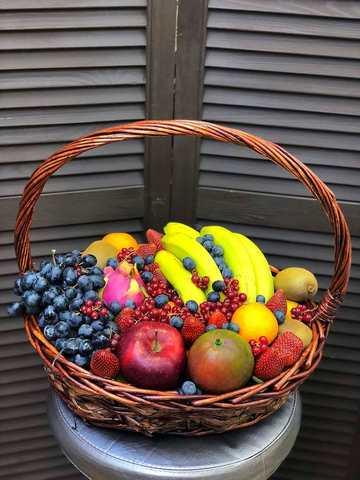 корзинка с фруктами #19866