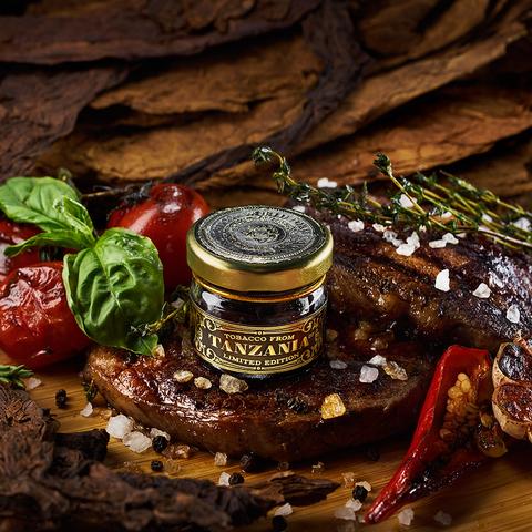 Табак для кальяна WTO 200 гр Tanzania T04 Beef Grill  (Мраморная Говядина)