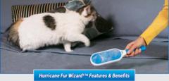 Щетка для эффективной уборки шерсти животных Fur Wizard