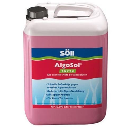 Против водорослей в пруду усиленного действия Soll AlgoSol Forte 10L