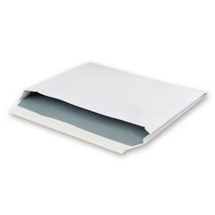 Конверт Bong Expander C4 120 г/кв.м белый стрип с внутренней запечаткой (25 штук в упаковке)