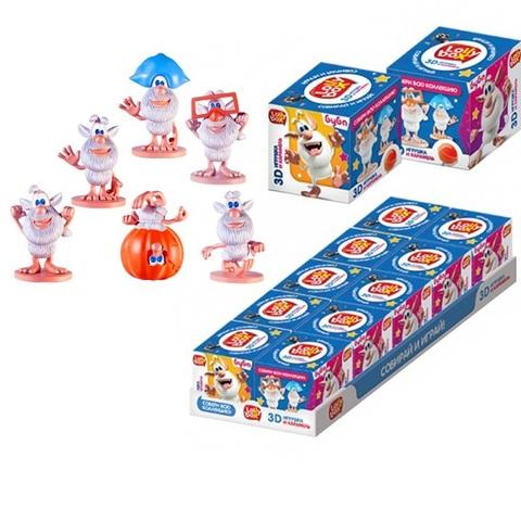 LOLLY BOX БУБА Карамель на палочке с игрушкой в коробочке 1кор*12бл*10шт, 11,4г.