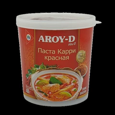 Паста Карри Красная Aroy-D, 400 гр
