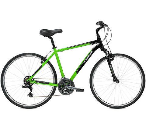 Trek Verve 2 (2016) зеленый с черным