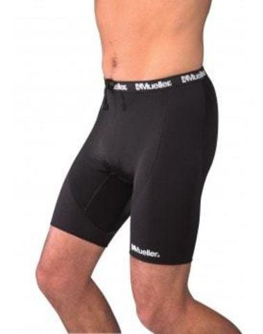 59101 Compression Shorts with Breathable Panel Спортивные компрессионые шорты с воздухопроницаемой вставкой SM