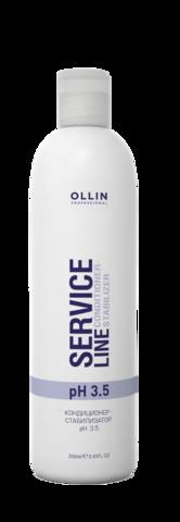 OLLIN SERVICE LINE Кондиционер-стабилизатор рН 3.5 250мл/ Сonditioner-stabilizer pH 3.5