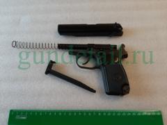 МР-658К (пневматический СО2 пистолет)