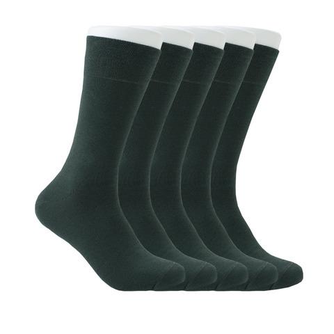 Набор зеленых носков из 5 пар купить