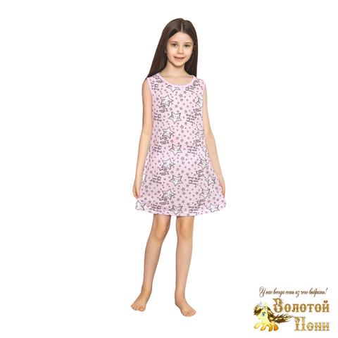 Сорочка хлопок девочке (6-14) 210318-М1140.4