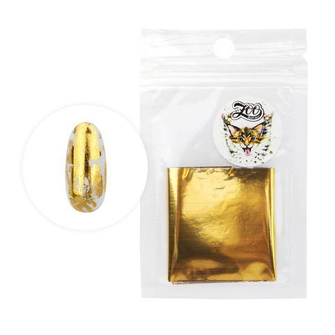 1416 Фольга переводная 4*50 см глянцевая золото