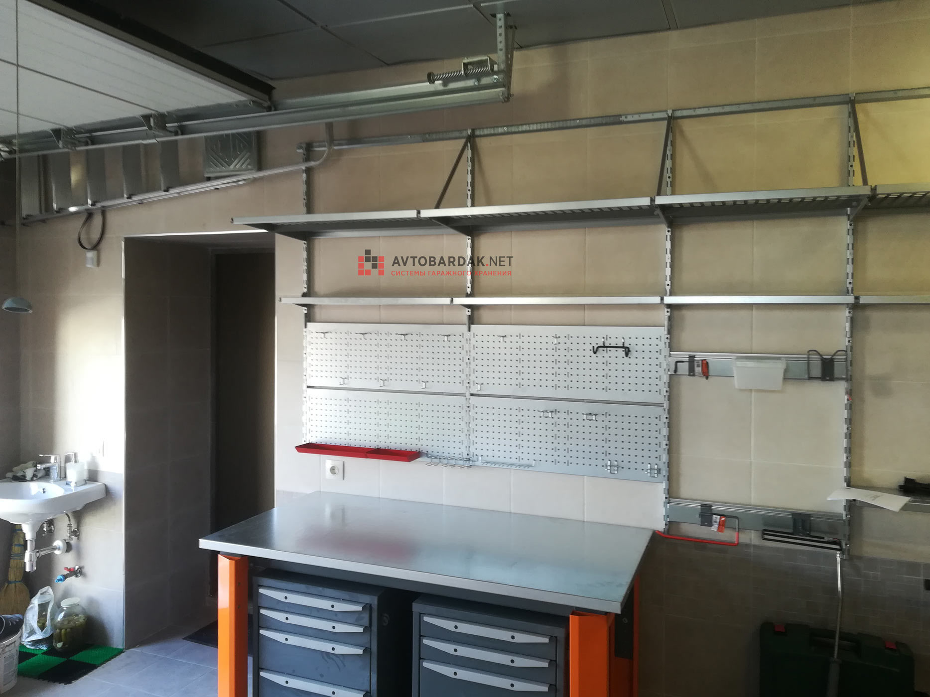 Проект №7: гараж 20 кв.м (6,3 х 3,2 м)
