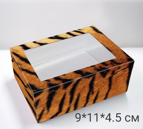 Коробка подарочная «Тигр» на одно мыло
