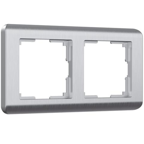 Werkel Рамка W0022106 (WL12-Frame-02) Серебро